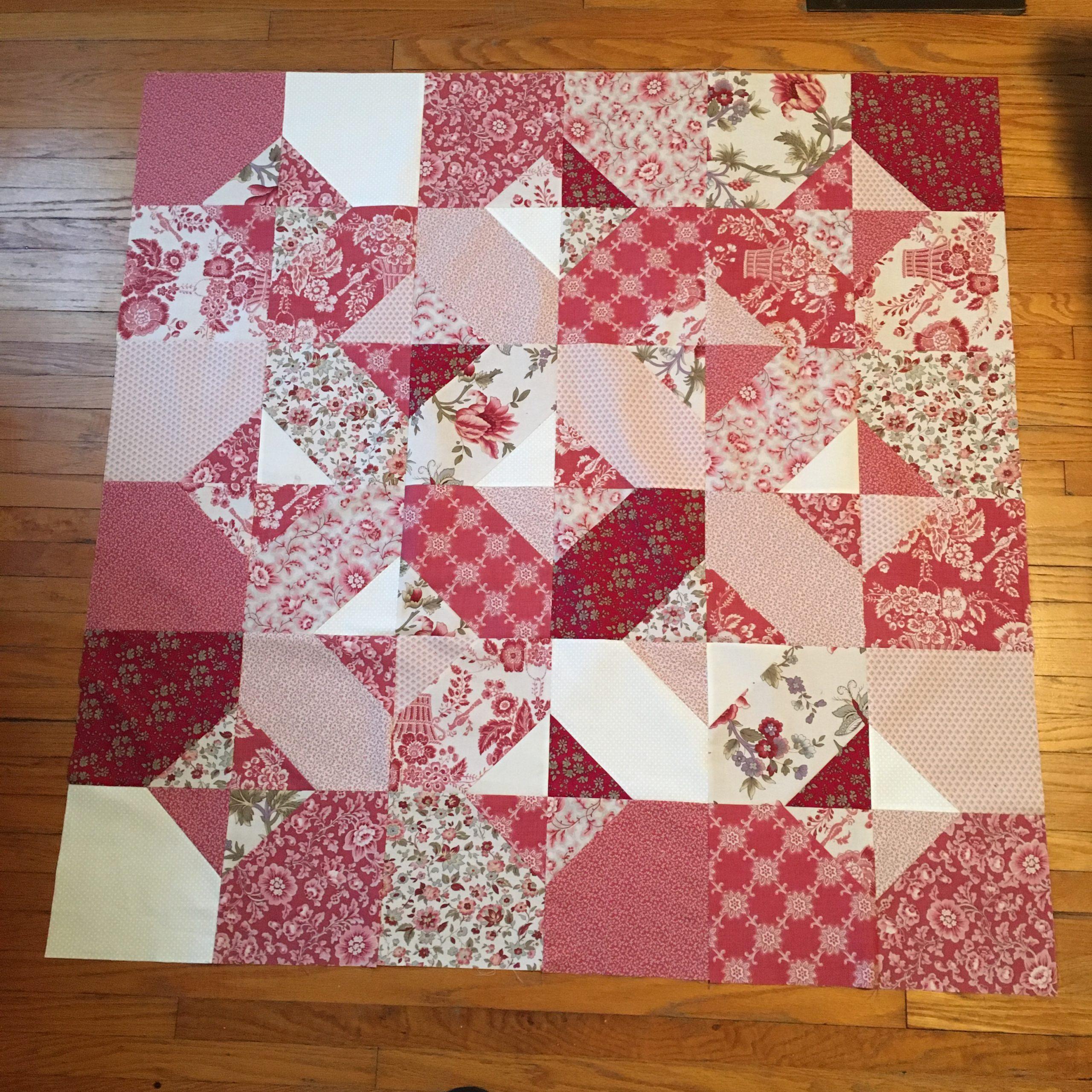 Final quilt top